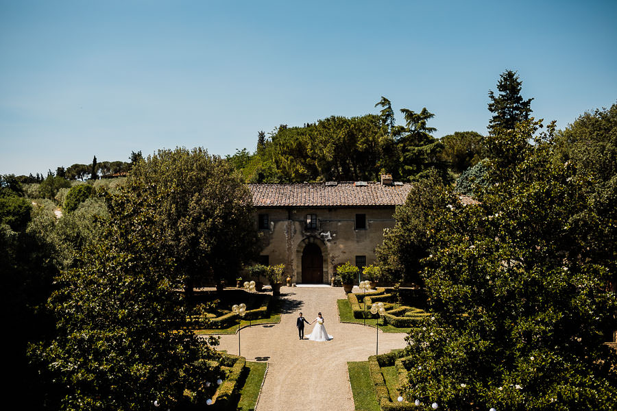 Wedding at the Castello di Oliveto in Castelfiorentino